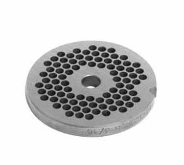 Univex 1000728 meat grinder plate