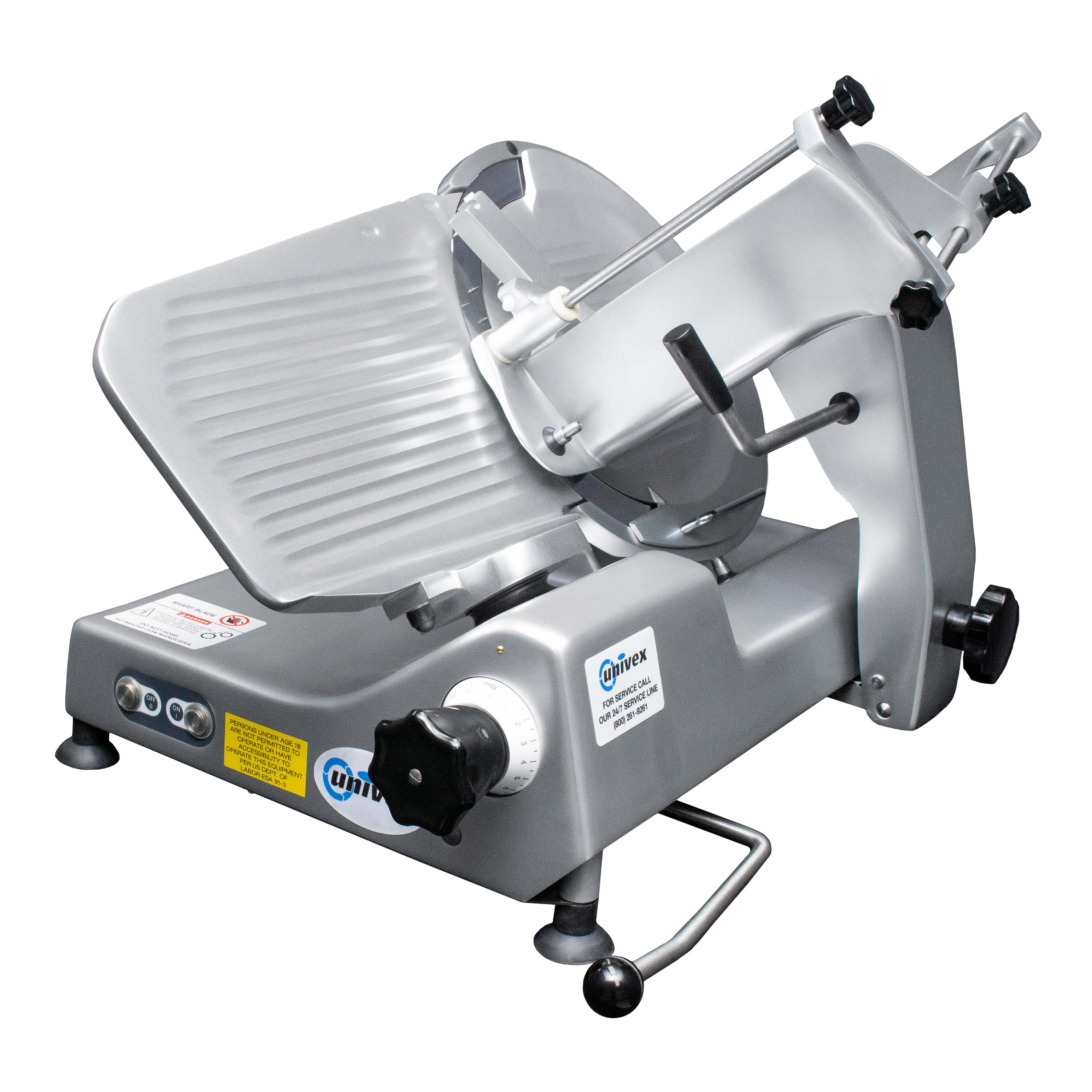 Univex 1000M food slicer, electric