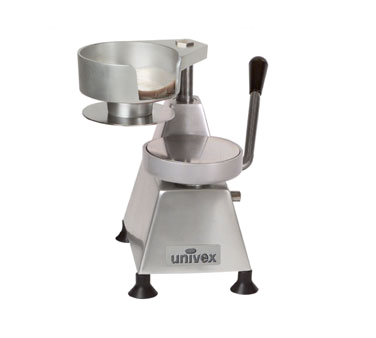 Univex 1404 hamburger patty press, countertop