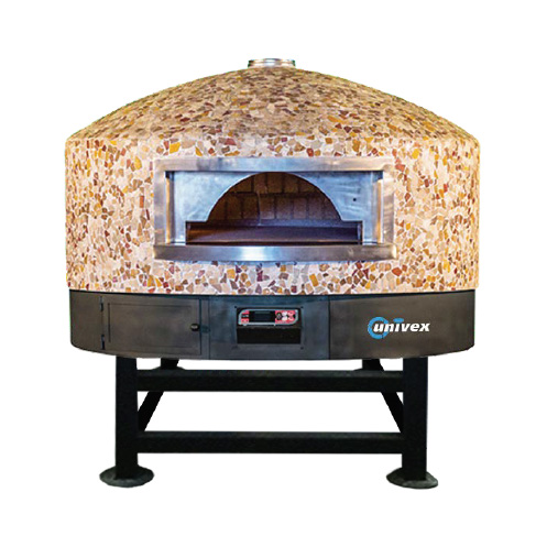 Univex DOME47RT oven, rotary, wood / coal / gas fired