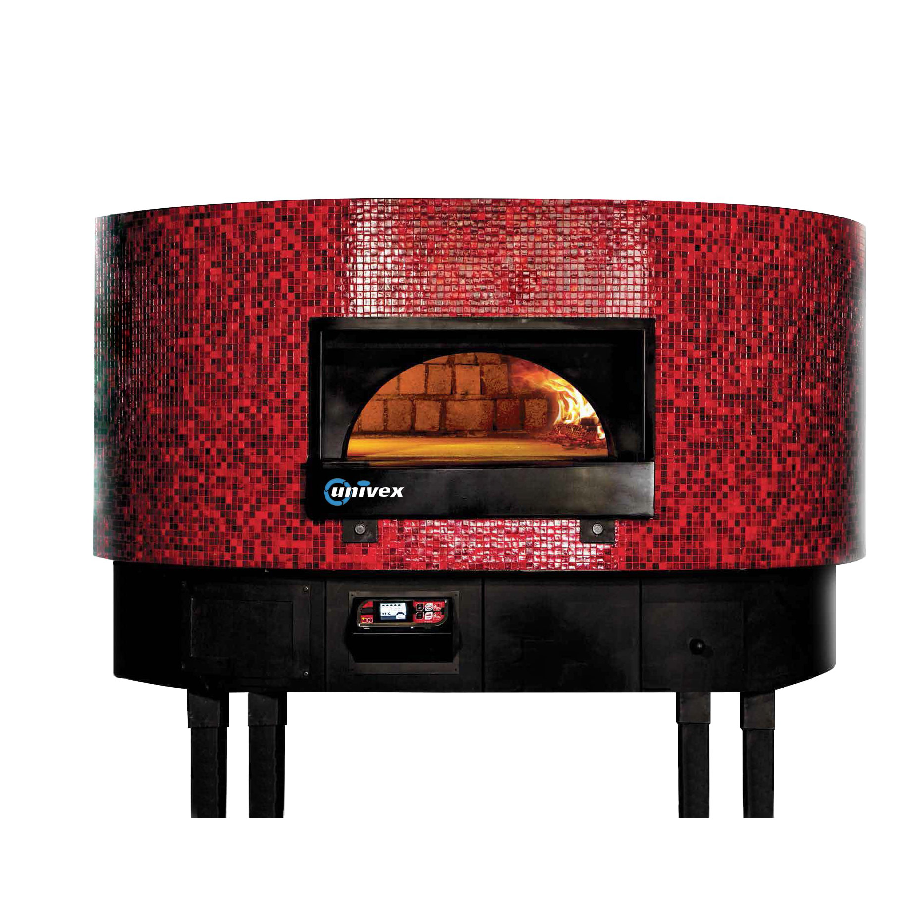 Univex DOME59FT oven, rotary, wood / coal / gas fired