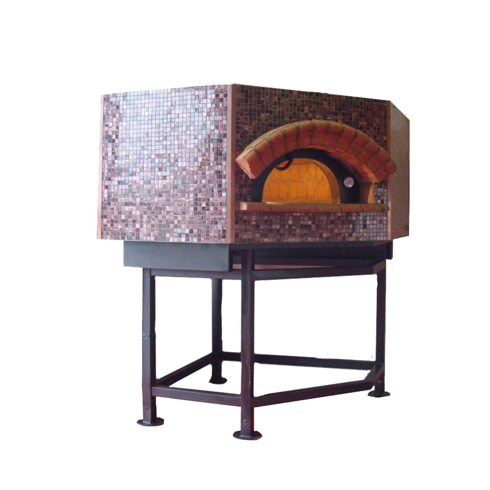 Univex DOME59P oven, wood / coal / gas fired