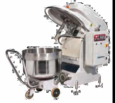 Univex SL160RB mixer, spiral dough