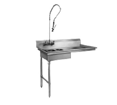 CMA Dishmachines SL-U dishtable, soiled, undercounter