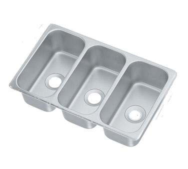 Vollrath 12065-3 sink, drop-in