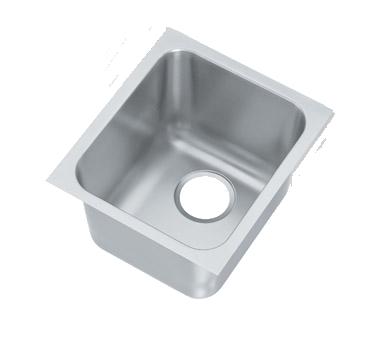 Vollrath 12101-1 sink bowl, weld-in / undermount