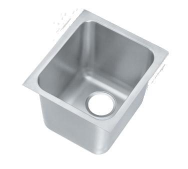 Vollrath 12121-1 sink bowl, weld-in / undermount