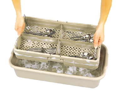 Vollrath 1394 dishwasher rack, for flatware