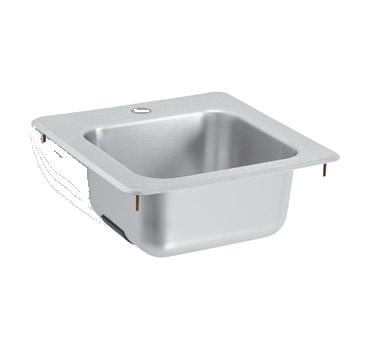 Vollrath 1551 underbar sink, drop-in