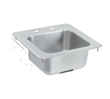 Vollrath 155-4 underbar sink, drop-in