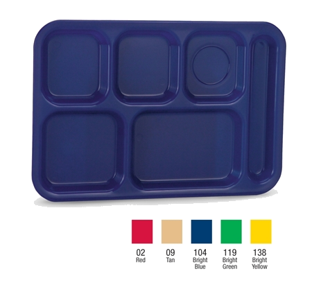 Vollrath 2015-09 tray, compartment, plastic