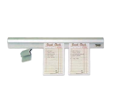 Vollrath 2436 check minder ticket holder / rail