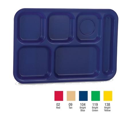 Vollrath 2614-04 tray, compartment, plastic