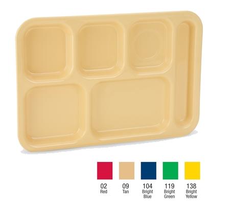 Vollrath 2615-09 tray, compartment, plastic