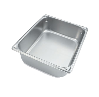 Vollrath 30240 steam table pan, stainless steel