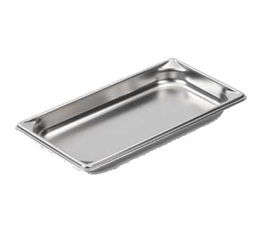 Vollrath 30312 steam table pan, stainless steel