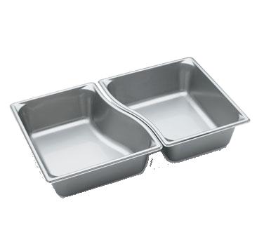 Vollrath 3100240 steam table pan, stainless steel