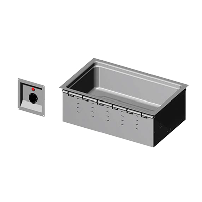 Vollrath 36355 hot food well unit, drop-in, electric