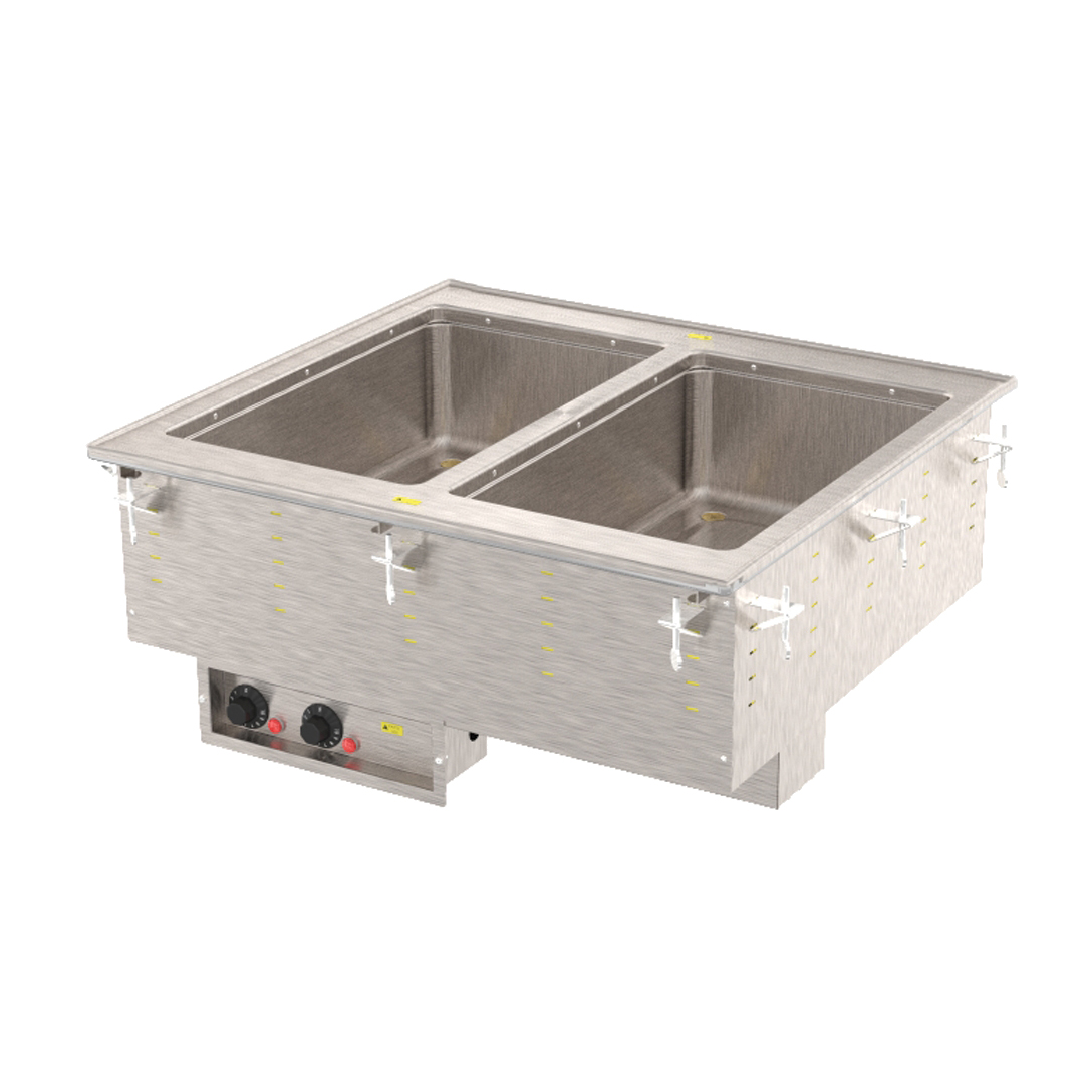 Vollrath 3639950HD hot food well unit, drop-in, electric
