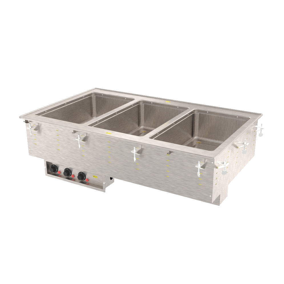 Vollrath 3640460HD hot food well unit, drop-in, electric