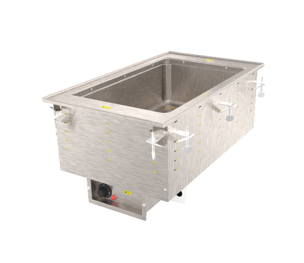 Vollrath 3646660HD hot food well unit, drop-in, electric