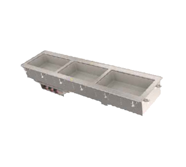 Vollrath 36645 hot food well unit, drop-in, electric