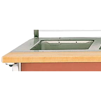 Vollrath 37551-2-C cutting board, equipment-mounted