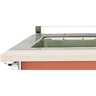 Vollrath 37563-2-C cutting board, equipment-mounted