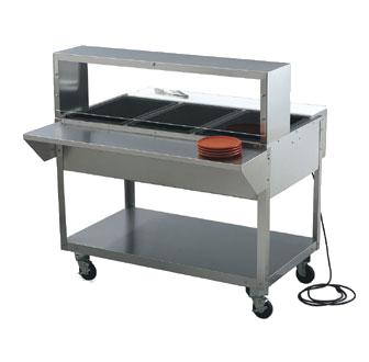 Vollrath 38043 overshelf, table-mounted