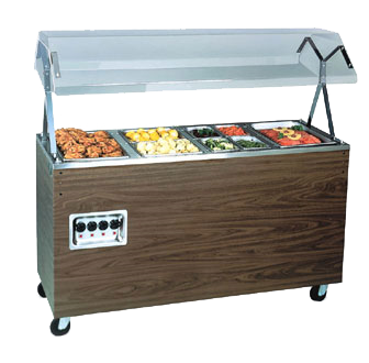 Vollrath 38772 serving counter, hot food, electric