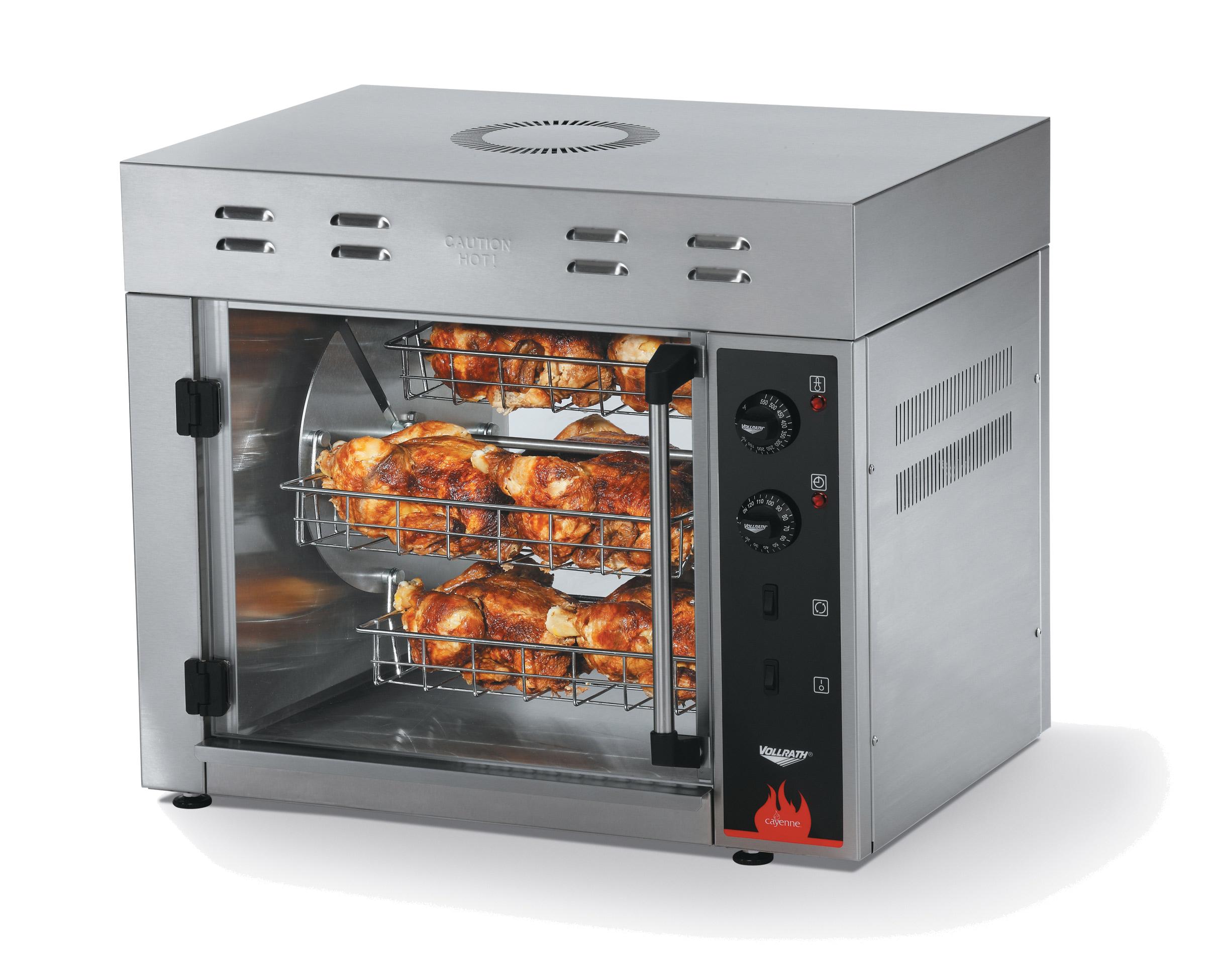 Vollrath 40704 oven, electric, rotisserie