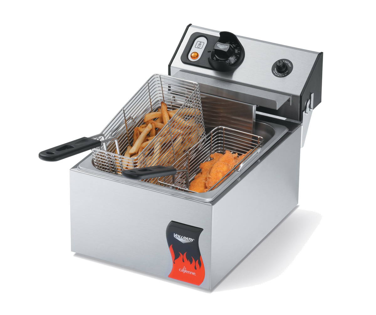 Vollrath 40706 fryer, electric, countertop, full pot