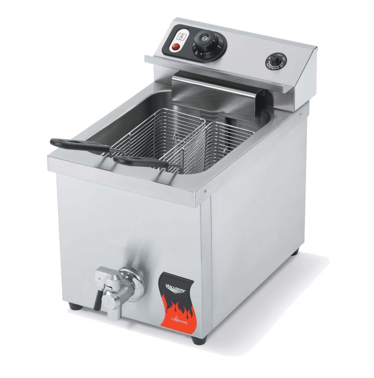 Vollrath 40709 fryer, electric, countertop, full pot