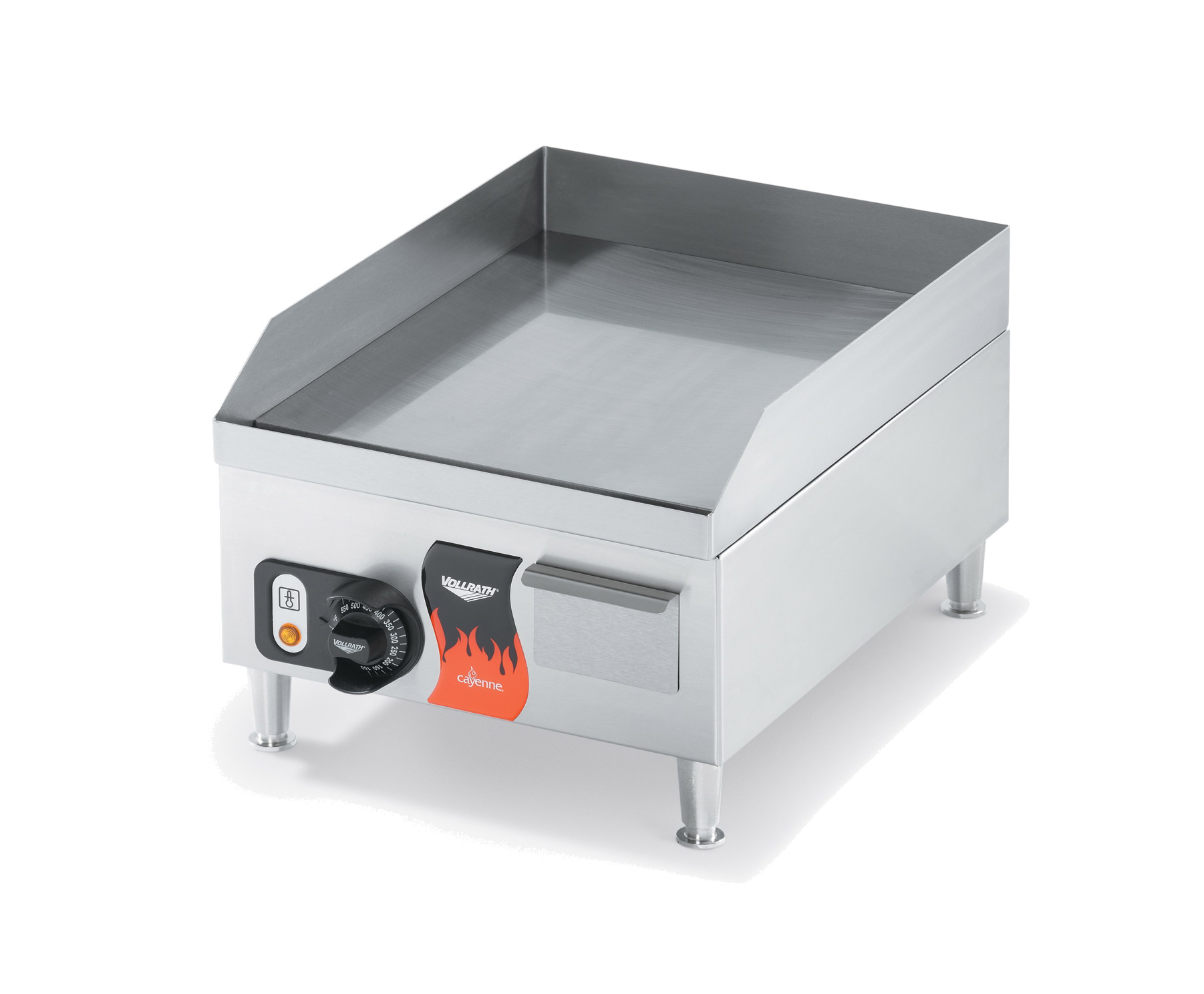 Vollrath 40715 griddle, electric, countertop