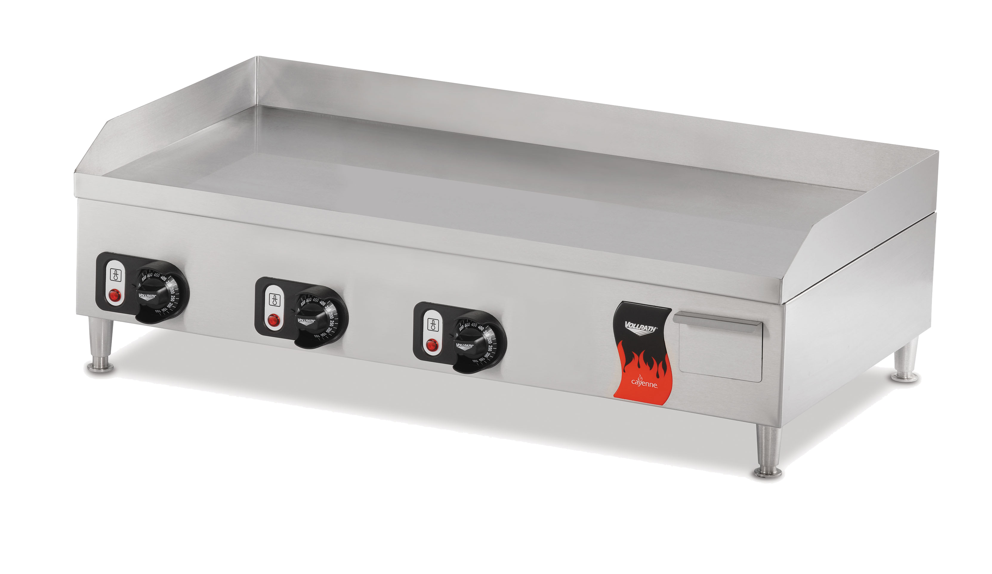 Vollrath 40717 griddle, electric, countertop