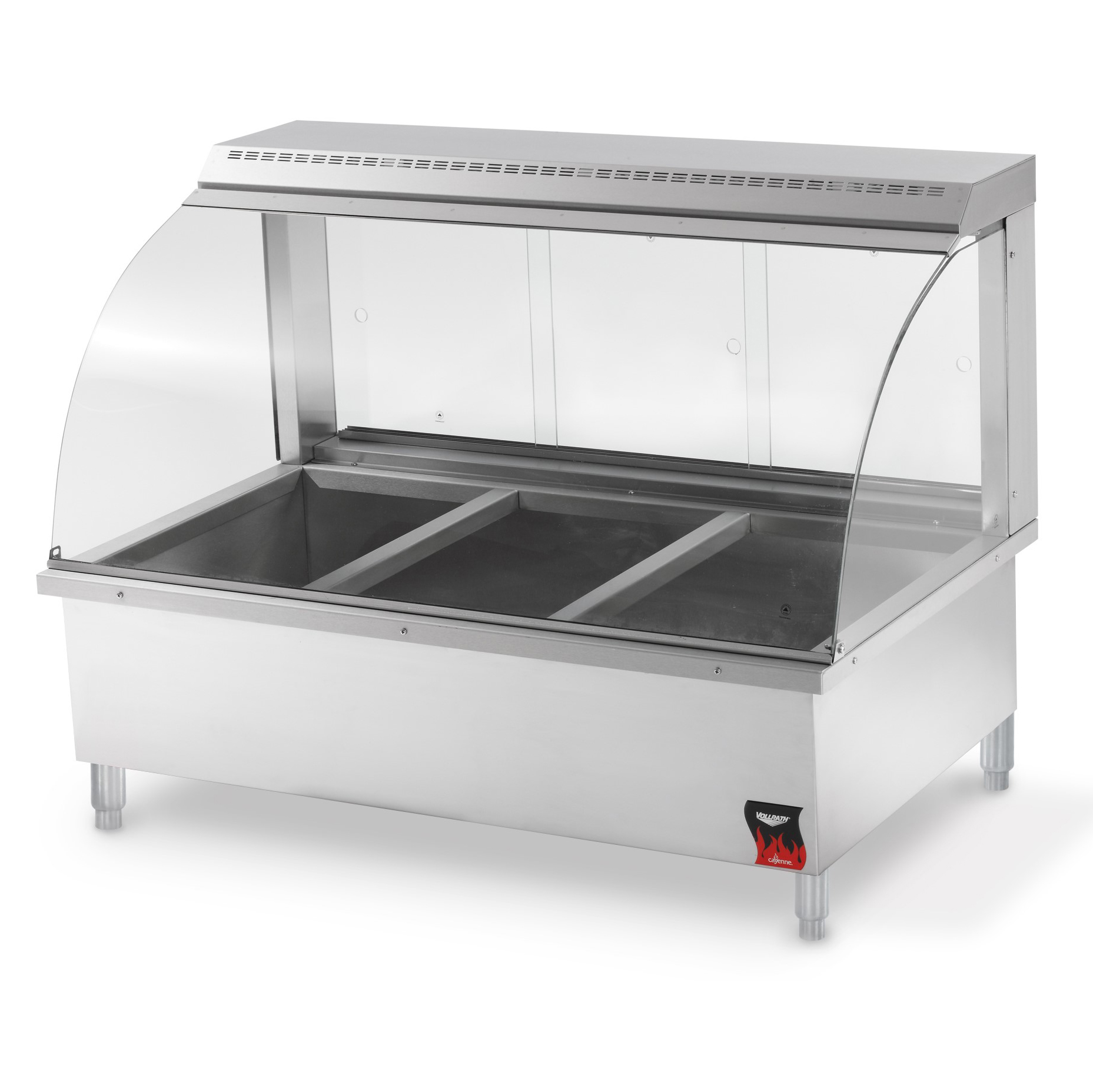 Vollrath 40732 display case, heated deli, countertop