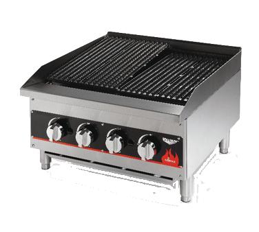 Vollrath 407382 charbroiler, gas, countertop