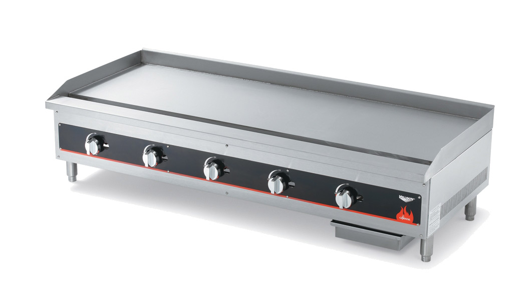 Vollrath 40840 griddle, gas, countertop