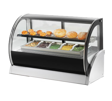 Vollrath 40855 display case, heated deli, countertop