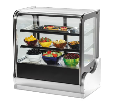 Vollrath 40867 display case, heated deli, countertop