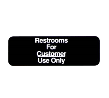 Vollrath 4525 sign, compliance