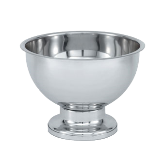 Vollrath 46072 punch bowl, metal