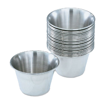 Vollrath 46713 ramekin / sauce cup, metal
