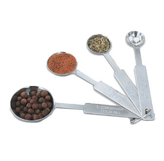 Vollrath 47118 measuring spoons