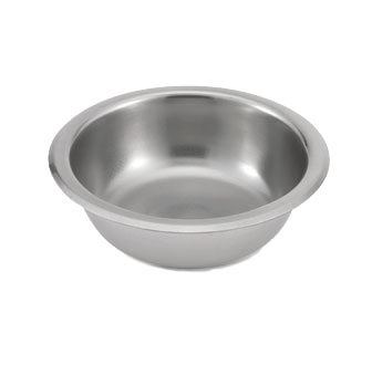 Vollrath 47536 soup salad pasta cereal bowl, metal