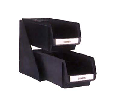 Vollrath 4841-06 condiment organizer bin rack