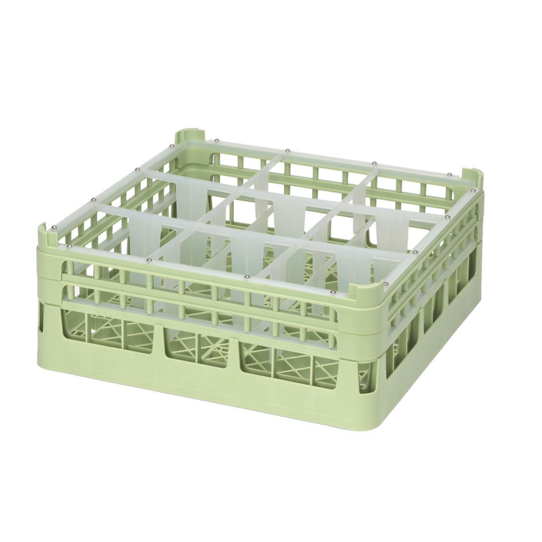 Vollrath 52762 dishwasher rack, glass compartment