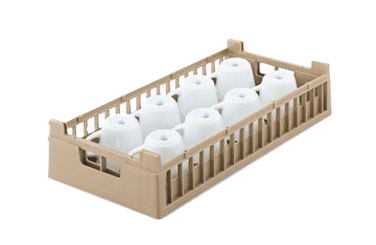 Vollrath 52805 dishwasher rack, cup compartment