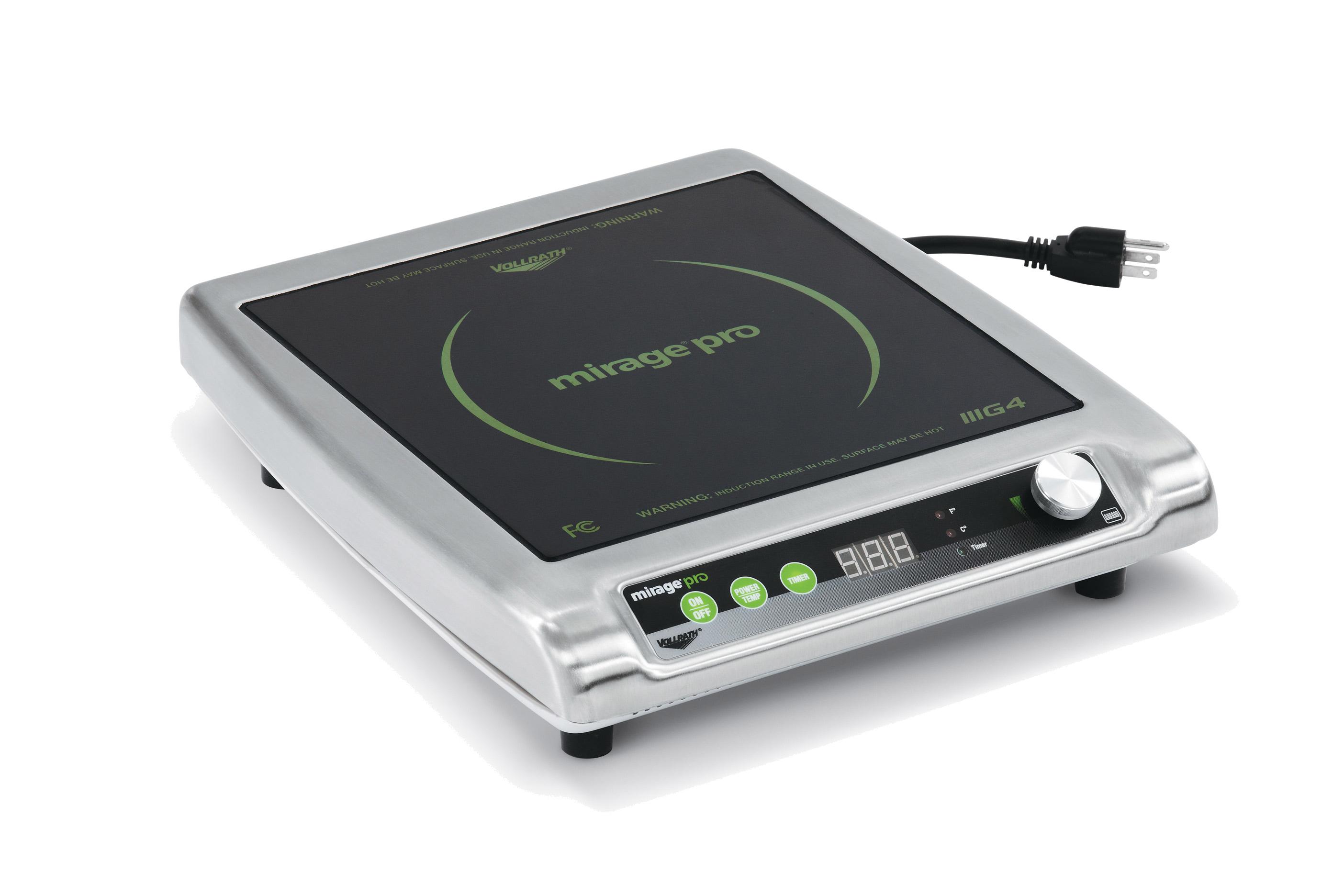Vollrath 59500P Mirage® Pro Induction Range, Countertop