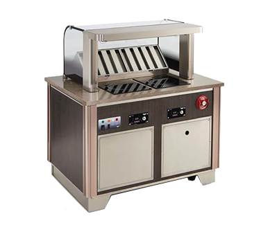 Vollrath 69722C-1-VCL induction hot food serving counter